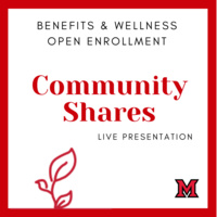 Overview of Miami's Partnership with Community Shares of Greater Cincinnati