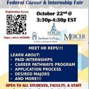 Pathways to Public Service- HHS Federal Career & Internship Virtual Fair