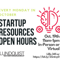 Startup Resources Open Hours