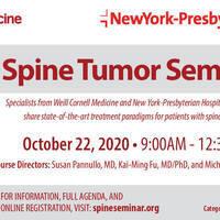 Spine Tumor Seminar 2020