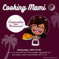 Cooking Mami: Empanadas con Hermanas!   Multicultural Affairs