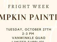 CAB Presents: Pumpkin Painting