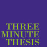 3 Minute Thesis graphic