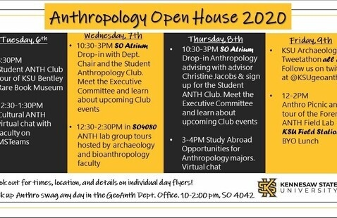 Anthropology Open House 2020