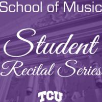 Student Recital Series: Allen Campoy, percussion. Cecilia Kao, piano.