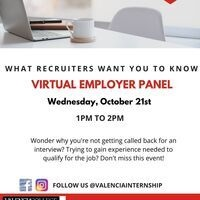 What Recruiters Want You to Know- Virtual Employer Panel
