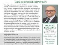 CIES Seminar Series hosting Dr. Nima Farzadnia