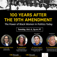 A Hundred Years After the 19th Amendment: The Power of Black Women in Politics Today