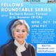 Fellows Roundtable with CPF Fellow Barbara Boxer