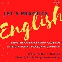 International Graduate Students - English Conversation Club