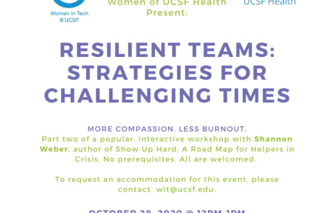 Resilient Teams: Strategies for Challenging Times - Interactive Workshop