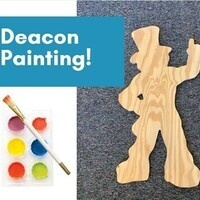 Take and Make Deacon Painting