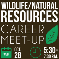 Wildlife and Natural Resources Career Meet-Up