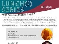 AASP Wednesday Lunch Series with Neema Kudva