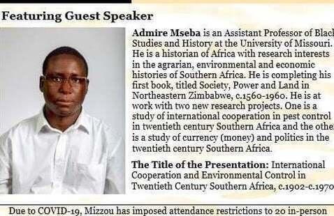 Dr. Admire Mseba