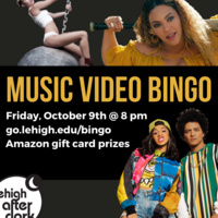 Music Video Bingo | Lehigh After Dark