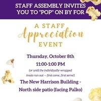 Staff Appreciation Event
