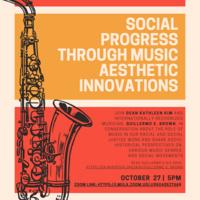 Social Progress through Music Aesthetic Innovations