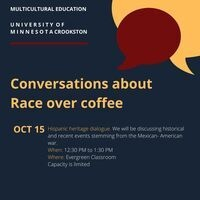 Conversations about Race over coffee