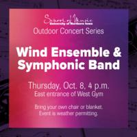 Outdoor Concert Series: Wind Ensemble & Symphonic Band