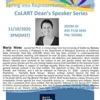 CoLART Dean's Speaker Series: Maria Nieto