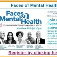 Faces of Mental Health: Celebrating Breast Cancer Awareness Month