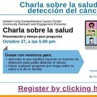 Charla sobre la salud: La detección del cancer (Spanish Health Chat: Cancer Screening)