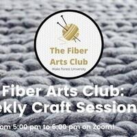 Fiber Arts Club Weekly Meeting