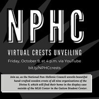 NPHC Crests Virtual Unveiling
