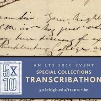 5x10: Special Collections Transcribathon | LTS