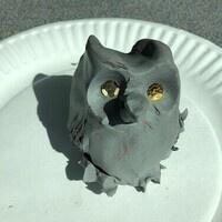 ART WORKSHOP: SPOOKY CLAY OWLS