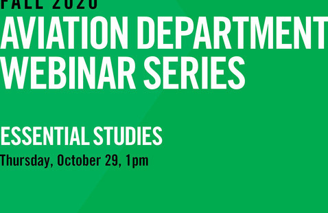 Aviation Department Webinar Series | Essential Studies