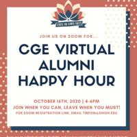 Center for Gender Equity Alumni Happy Hour