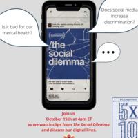 5 x 10 Film Screening: The Social Dilemma  | Center for Gender Equity