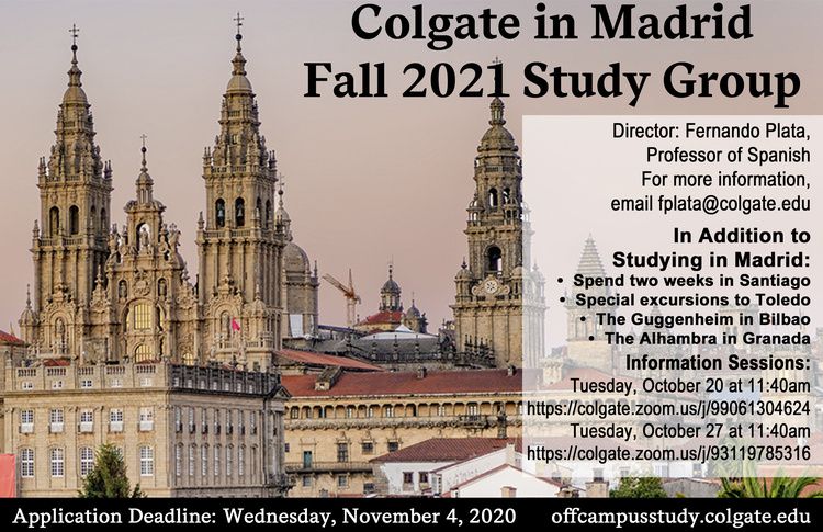 Fall 2021 Madrid Study Group Poster