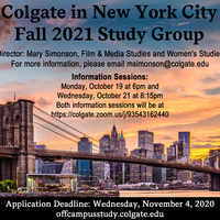 Fall 2021 New York City Study Group Poster
