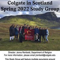 Spring 2022 Scotland Study Group Poster