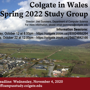 Spring 2022 Wales Study Group Poster
