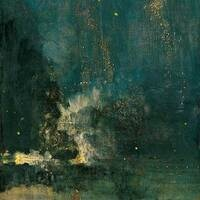 """""""Nocturne in Black and Gold"""" by Whistler"""
