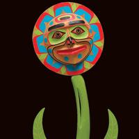 Kwagiulth Flower, Richard Hunt (Kwak'waka'wakw), 2006. Photo by NMAI.