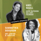 Keynote speakers Andi Scull & Sammetria Goodson