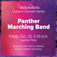 Outdoor Concert Series: Panther Marching Band