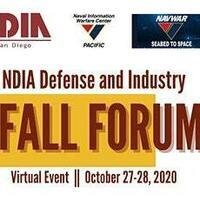 NDIA San Diego Defense and Industry Fall Forum 2020
