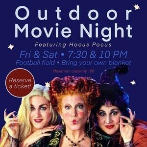 Outdoor Movie: Hocus Pocus
