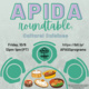 APIDA Roundtable: Cultural Cuisines