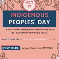 Indigenous Peoples Day 2020 Celebration, Link in description