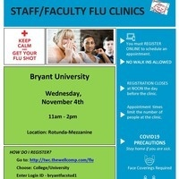 Faculty and Staff Flu Clinics