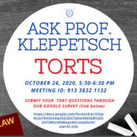 Ask Prof. Kleppetsch: TORTS