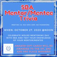 SBA Mentor/Mentee Trivia