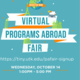 Programs Abroad (Pre) Fair Info Session: How to Navigate the Virtual Programs Abroad Fair